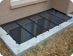 Egress Inc. | Window Well Covers & A custom wrought iron window well cover fabrication and installation ...
