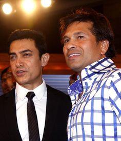 Aamir Khan & Sachin Tendulkar