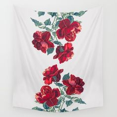 Buy Red Roses Wall Tapestry by Heart of Hearts Designs. Worldwide shipping available at Society6.com. Just one of millions of high quality products available.