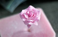 how to make fondant roses step by step - Google Search