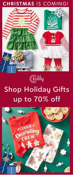 Sign up to save on Christmas gifts for the family, up to 70% off. Shop holiday pjs, toys, home decor, and more.