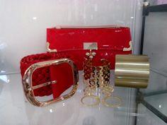 Bolsa, cinto e acessorios