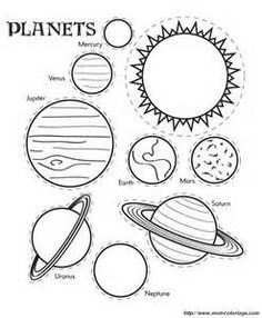 Solar System Coloring Pages Worksheets - Bing Images