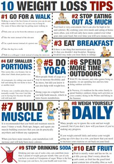 10 lose weight tips