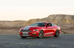 Here is the 2015 Ford Mustang Shelby GT. Shelby American's latest creation sharpens the point on the S550 Mustang's inherent greatness.