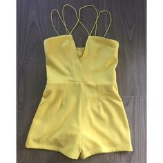 """This sexy yellow romper with crisscross straps is a sure way to wow this weekend!  For pricing and size availability, please call us at 786-740-1407 or email us at r2cboutique@gmail.com  #LooksWeLove #OutfitsWeLove  #SummerStyle #Boutique #Fashion #Miamiboutique #Summer #Style  #Weekend #OOTD #OOTN #Miami #onlineboutique #Instaboutique #Onlineshopping #SouthMiami #SouthBeach #Wynwood #Midtown #Kendall #MiamiLakes #Downtown #tagforlikes"" Photo taken by @racktocloset on Instagram"