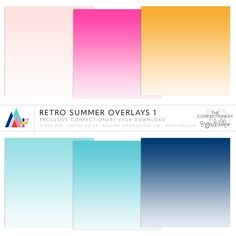 Retro Summer Overlays 1 ·CU· {EXCLUSIVE}