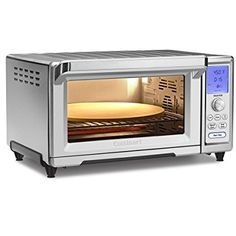 Cuisinart Chef's Toaster Convection Oven can easily fit pizza and 9 by 13 inches baking pan, the capacity is Cu. This Cuisinart Specialty Appliances, Small Appliances, Kitchen Appliances, Kitchen Gadgets, Cooking Appliances, Kitchen Units, Countertop Oven, Kitchen Countertops, Best Air Fryers