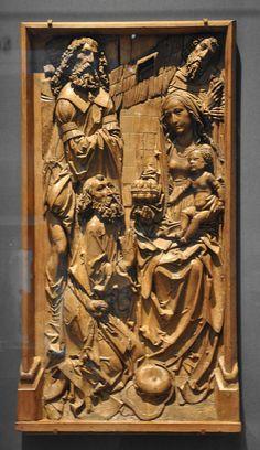 Riemenschneider Adoration British Museum - Category:Tilman Riemenschneider - Wikimedia Commons