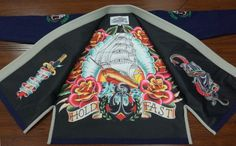 """We're raising the bar yet again with this amazing Gi inspired by the Classic American """"Sailor Jerry"""" Style of tattoo art. The Classic..."""
