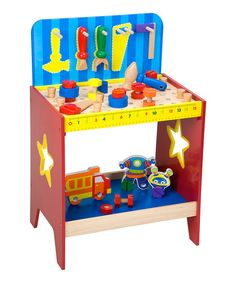 My Tool Bench Set, this has my little one's name all over, so cute!!