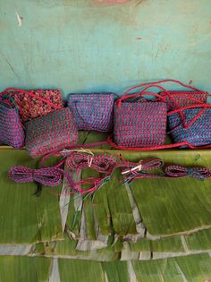 Satchel Purse, handmade in Uganda. Empowering women through employment social enterprise. Satchel Purse from palm fiber.