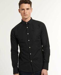 Superdry Cut Away Collar Shirt - Men s Shirts Men s Shirts f5cabff547e