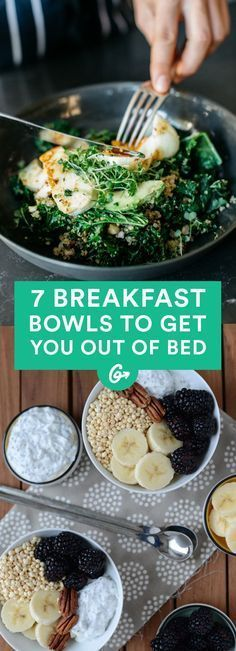 They're better than an alarm clock. #healthy #breakfast #bowls http://greatist.com/eat/breakfast-bowls