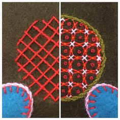 Before and after. #bottensöm #embroidery #broderi #bordado #broderie