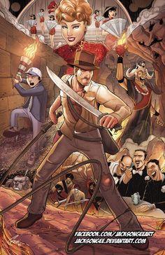 Indiana Jones Illustrations -- Page 38