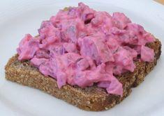 Roter Heringssalat aus Makrele ;)