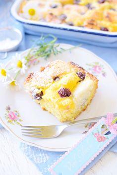 Kessy's Pink Sugar: Kirsch Makronen Kuchen