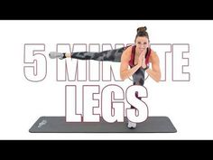 5 Minute Butt & Thighs - YouTube