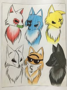 Hollywood Undead Wolf Version by Embreon.deviantart.com on @DeviantArt