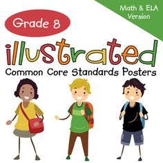 """Eighth Grade Common Core Standards """"I Can Statements"""" Post"""