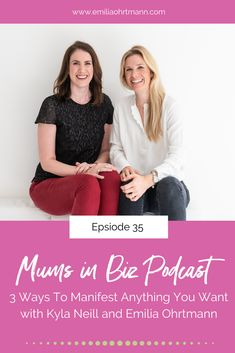 It's a belief so strong that you will get what you want that your dreams become a reality and who doesn't want all their dreams to come true.  In this episode we give you 3 easy steps to follow to manifest anything you want. Your dream car or house, a new job or business - it can all be yours. #manifesting #belief #posititvethoughts Boss Babe, Girl Boss, Business Women, Business Tips, Inspirational Quotes For Entrepreneurs, Blog Layout, Branding, Grown Women, Live In The Now