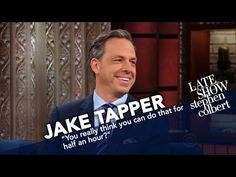 Jake Tapper's Job Isn't To Be Liked - http://LIFEWAYSVILLAGE.COM/how-to-find-a-job/jake-tappers-job-isnt-to-be-liked/