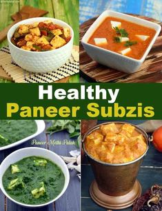 Healthy Paneer Subzi Recipes , Cottage Cheese healthy recipes Don't forget to follow me