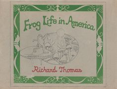 Frog Life in America by ParagonAlley on Etsy