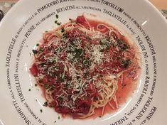 ganz fix - Spaghetti mit Rotwein-Schalotten-Soße