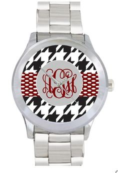 Monogram Watch Stainless Steel Personalized by InitiallyPink, $30.00