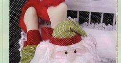 Slippers, Santa, Christmas, Grande, Frozen, Patterns, Fuzzy Slippers, Christmas Ornaments, Fabric Dolls