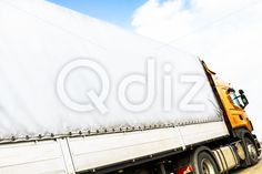 Qdiz Stock Photos | Truck,  #automobile #autotruck #business #car #cargo #commercial #delivering #delivery #driving #freight #industry #land #lane #logistic #lorry #merchandise #motor #semi #shipping #thoroughfare #trailer #transport #transportation #truck #trucking #vehicle #wagon