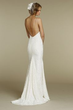 Costas à mostra! Encontre o decote perfeito para o seu vestido de noiva