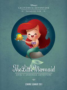 Kawaii Little Mermaid by Jerrod Maruyama.