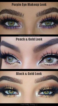 >> Beautiful Makeup Looks For Green Eyes <<
