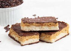 Salted Chocolate and Peanut Slice