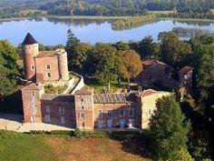 Chateau du montpellier xiv s en dombes pays aux mille etangs france rhone alpes