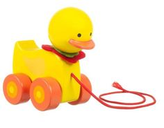 #Handmade #Duck Pull Along #Wooden #Toy £7.95