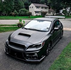 I love that front bumper, and the sort of blacked out theme Toyota Car Models, Toyota Cars, Subaru Cars, Honda Cars, Tuner Cars, Jdm Cars, Wrx Mods, Best Suv, Sweet Cars