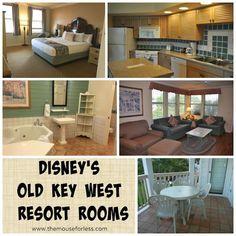 Floor plan of Old Key West Disney villa Favorite Places