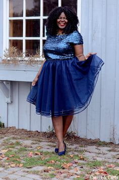 My Curves & Curls™ | A Canadian Plus Size Fashion blog: It's officially Tutu Season !