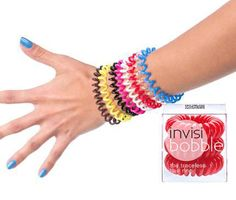 Tie your hair up comfortably with the #invisibobble. #Hair. Find a product. www.hairscope.co.za