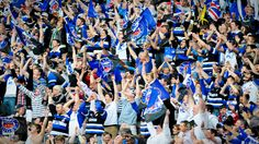 Bath Rugby - now theres a crowd