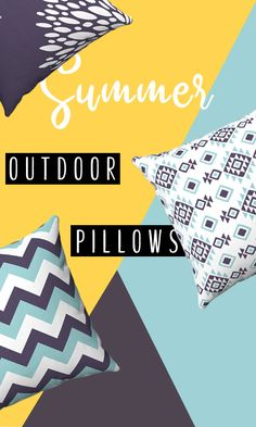 Bring added style and comfort to your home patio with our outdoor cushions! Add your personal touch with outdoor throw pillows. Outdoor Cushions, Outdoor Throw Pillows, Etsy Handmade, Handmade Items, Monochrome Nursery, Kids Decor, Decor Ideas, Home Decor, Personalized Pillow Cases