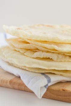 Gluten Free Tortillas via minimaleats.com