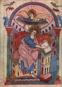 Ada-Handschrift, Der Evangelist Matthäus (Aachen, um 800)