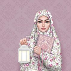 335 images about Muñecas Hermosas♡ on We Heart It See more girly_m hijab ramadan - Hijab Girly M, Hijabi Girl, Girl Hijab, Muslim Girls, Muslim Women, Art And Illustration, Landscape Illustration, Sarra Art, Hijab Drawing