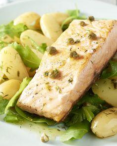 Voor dit gerecht haalden we onze inspiratie in Scandinavië, waar ze echt nog kunnen genieten van heerlijke verse vis en eenvoudige, frisse smaken.