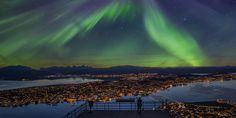 Das Nordlicht in Tromsø - Das offizielle Reiseportal für Norwegen - Foto: Truls Tiller